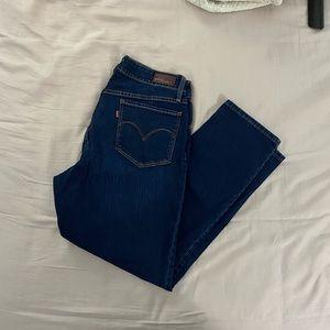 Bright Blue Levi's
